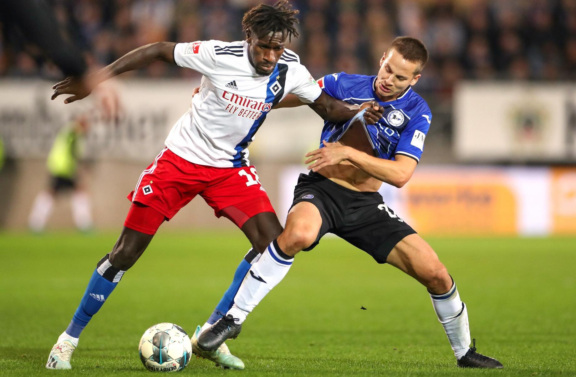 Bild zu Arminia Bielefeld - Hamburger SV