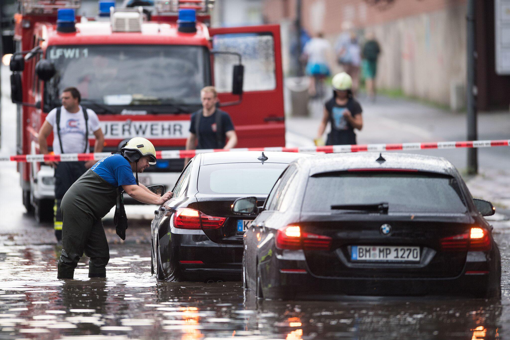 Bild zu Wetter, Deutschland, heute, aktuell, Unwetter