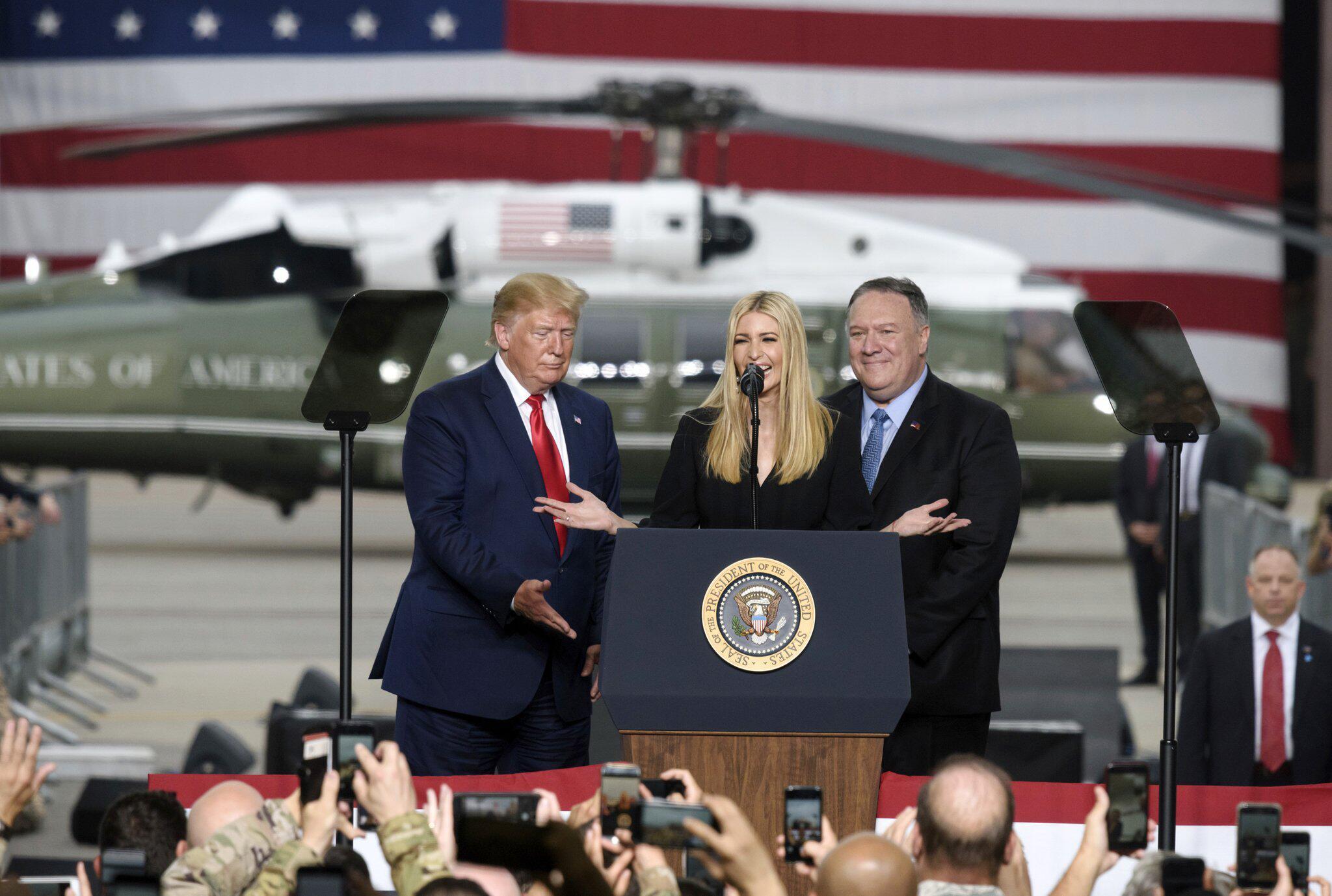Bild zu US-Präsident Trump besucht Südkorea