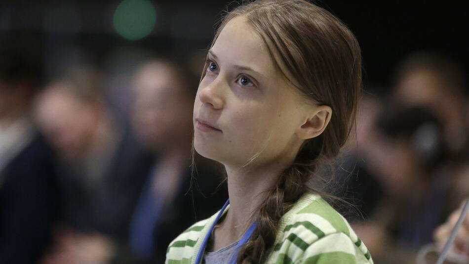 Klimaschutzaktivistin Greta Thunberg