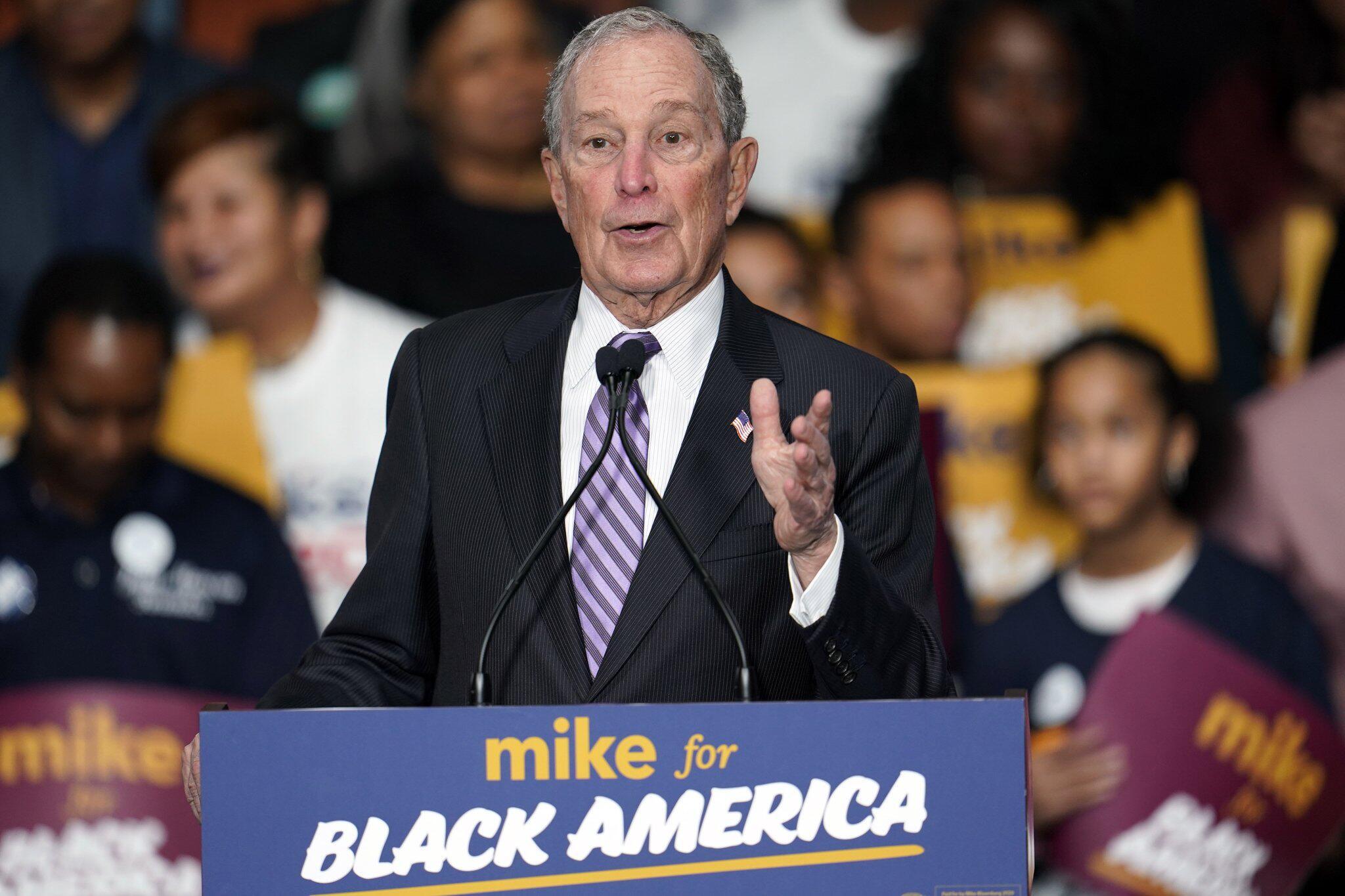 Bild zu Wahlkampf in den USA - Bloomberg