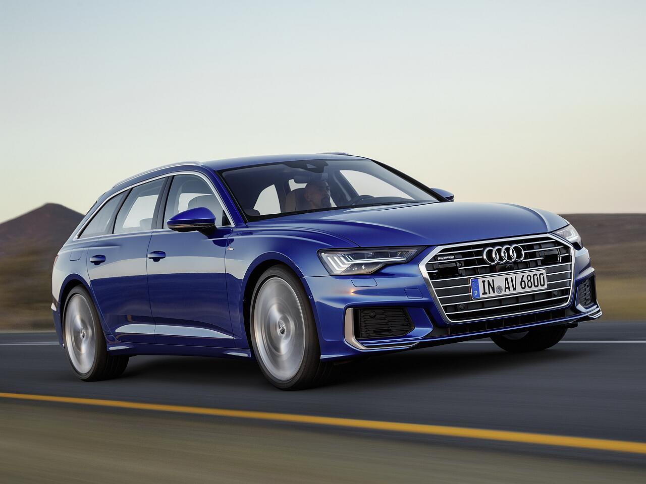 Bild zu Der neue Audi A6 Avant: Kombi mit viel Platz und modernem Design