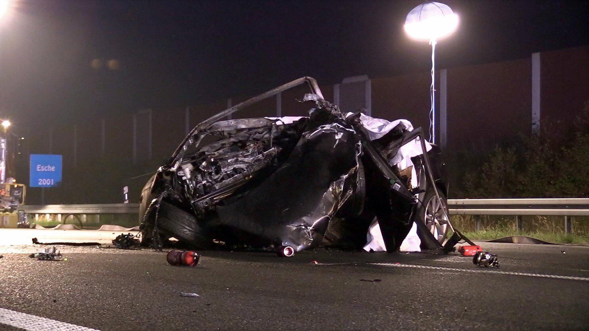 Bild zu Unfall auf der A4