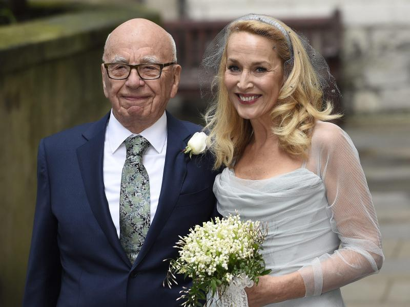 Bild zu Rupert Murdoch heiratet