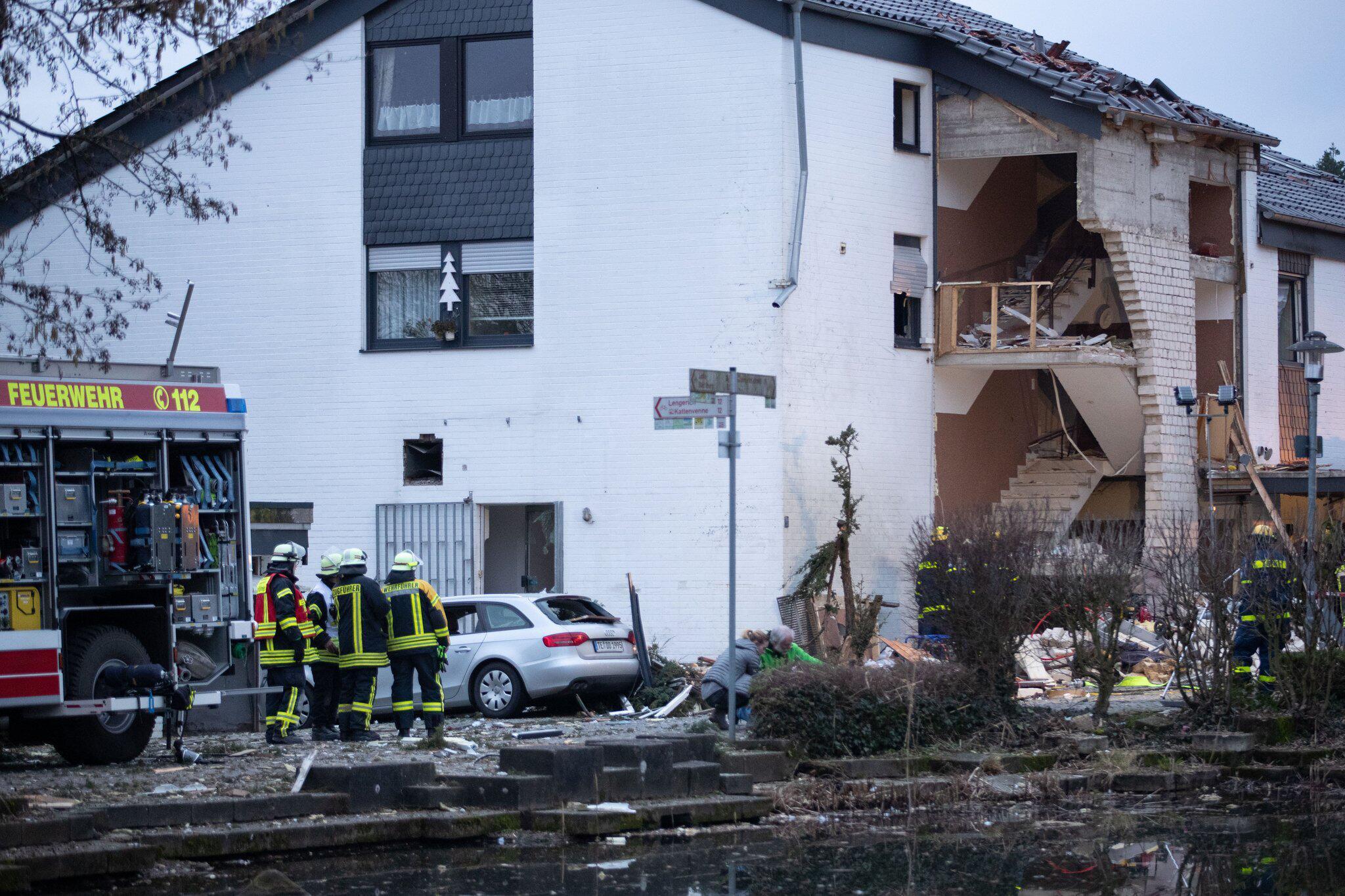Bild zu Gasexplosion in Mehrfamilienhaus