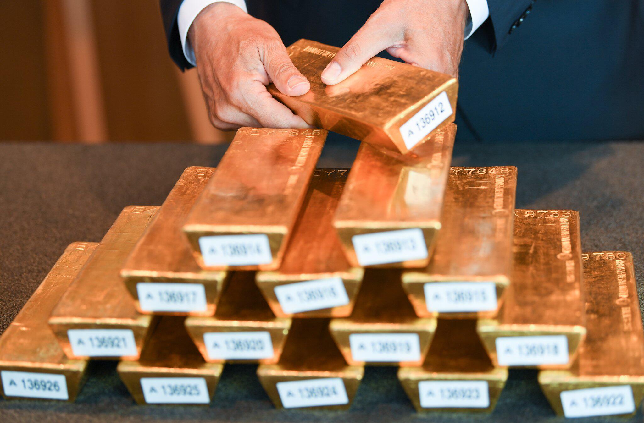 Bild zu Goldreserven der Deutschen Bundesbank