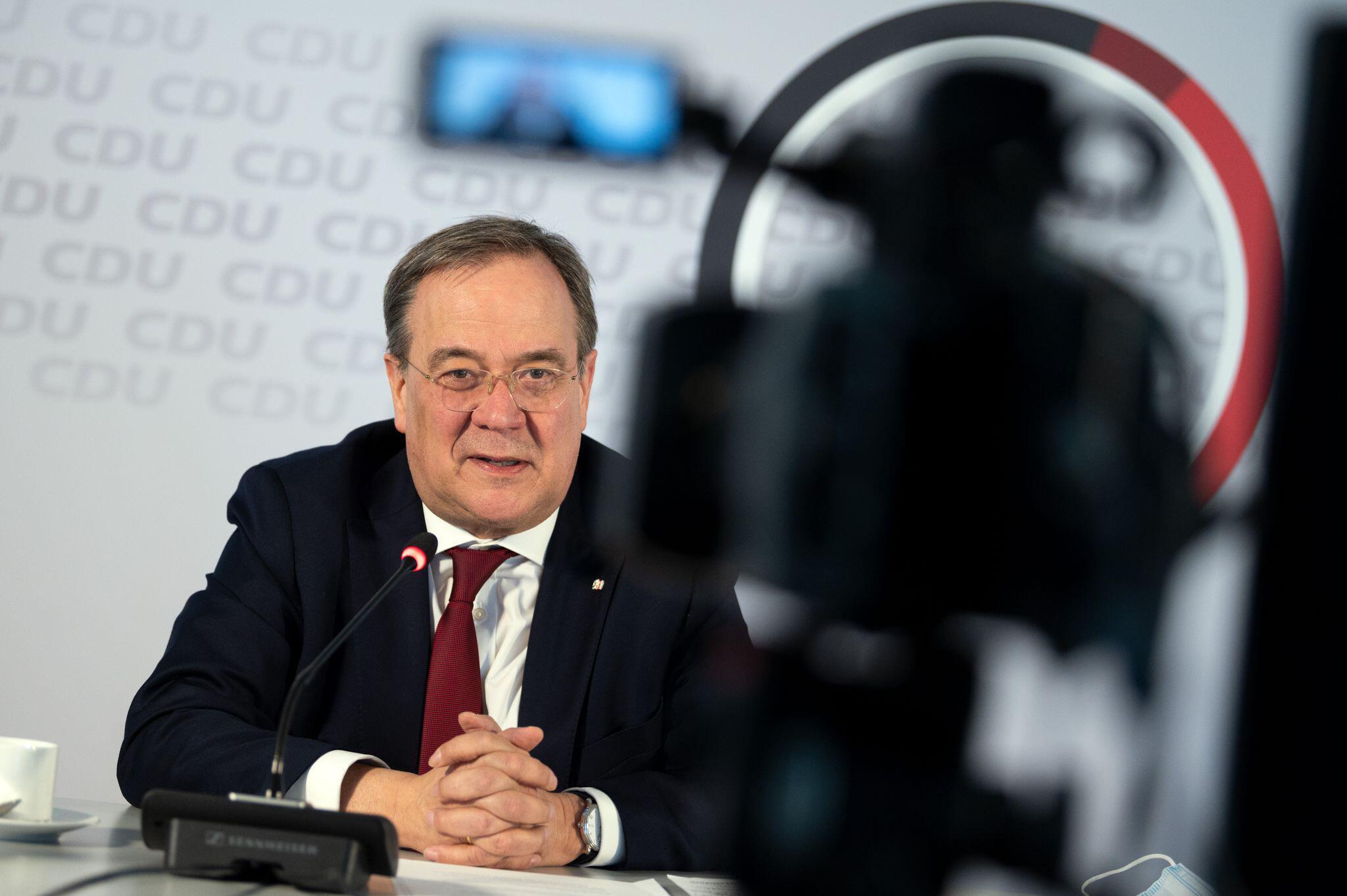 Bild zu CDU-Bundesvorsitzender Laschet im Interview