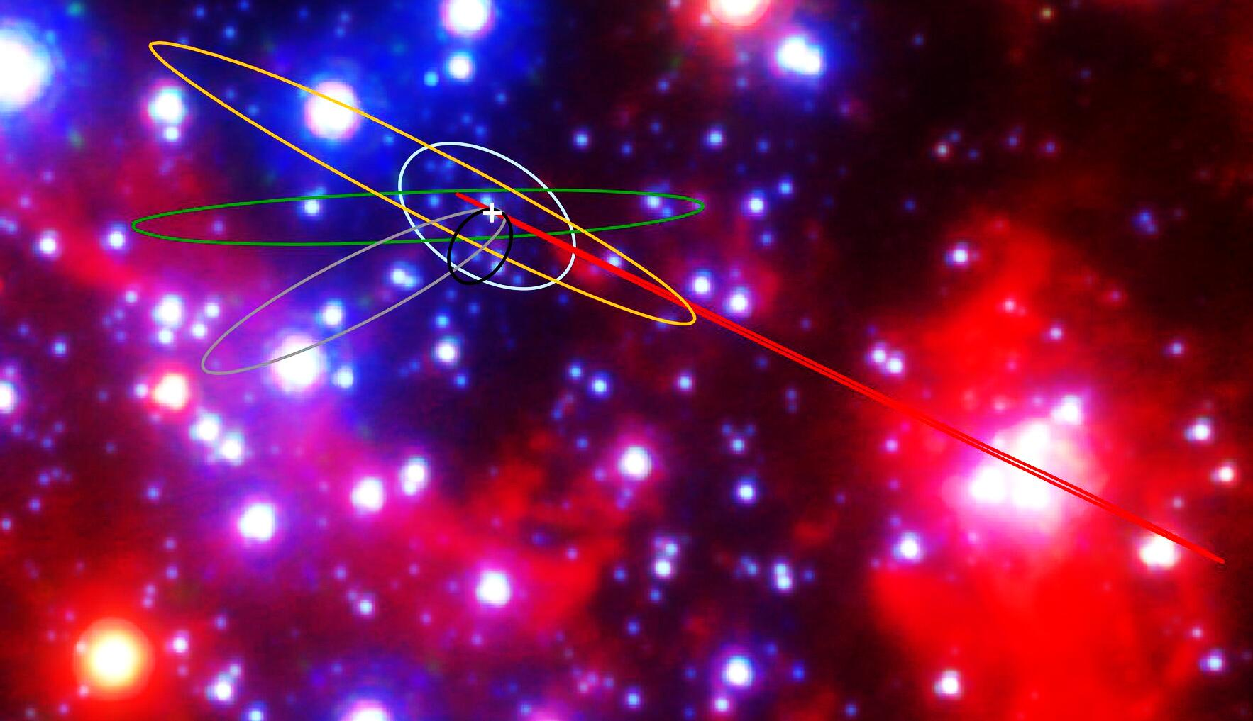 Bild zu Astronomen erspähen neue Klasse von Himmelskörpern