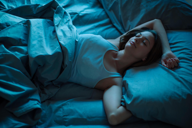 Bild zu Schlafende Frau, Schlaf, Traum