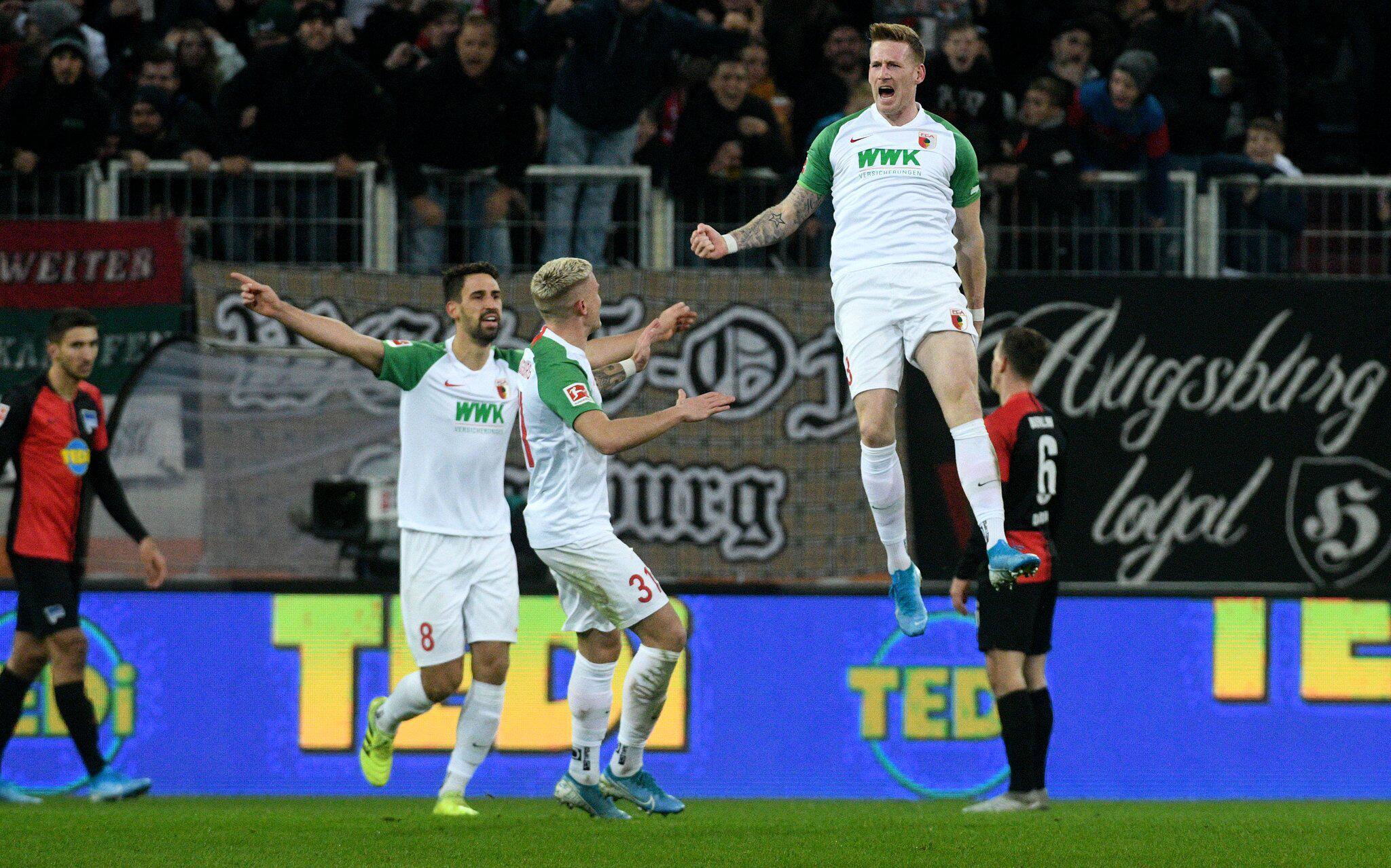 Bild zu FC Augsburg - Hertha BSC