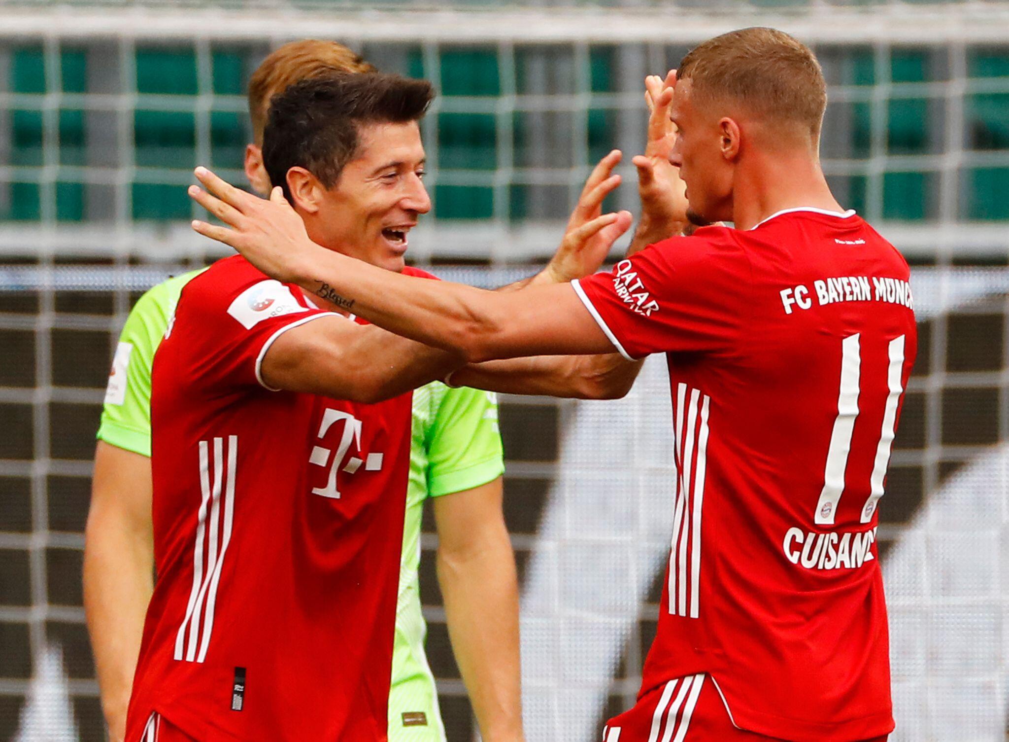 Bild zu VfL Wolfsburg - FC Bayern München