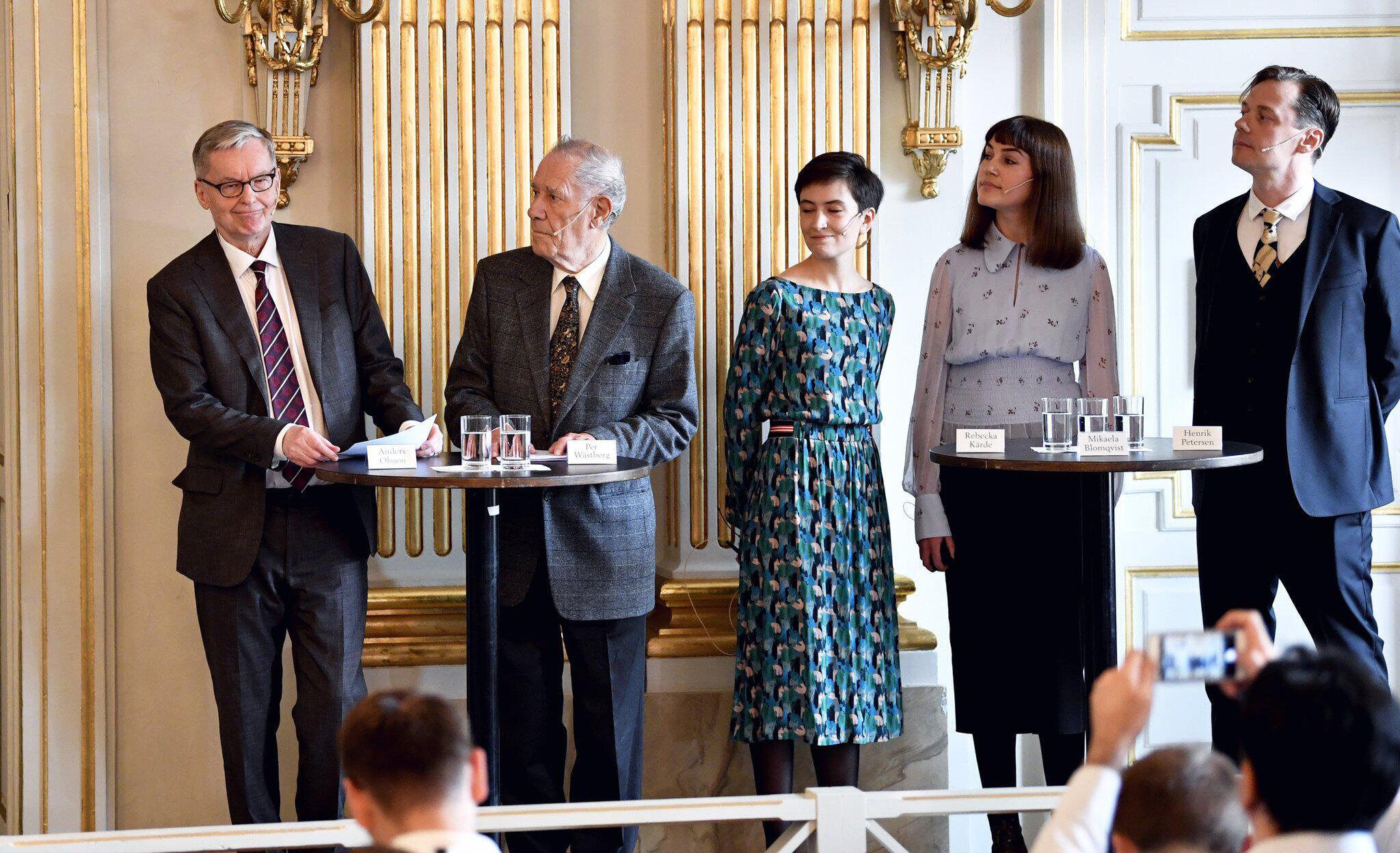 Bild zu Nobelpreise für Literatur der Jahre 2018 und 2019