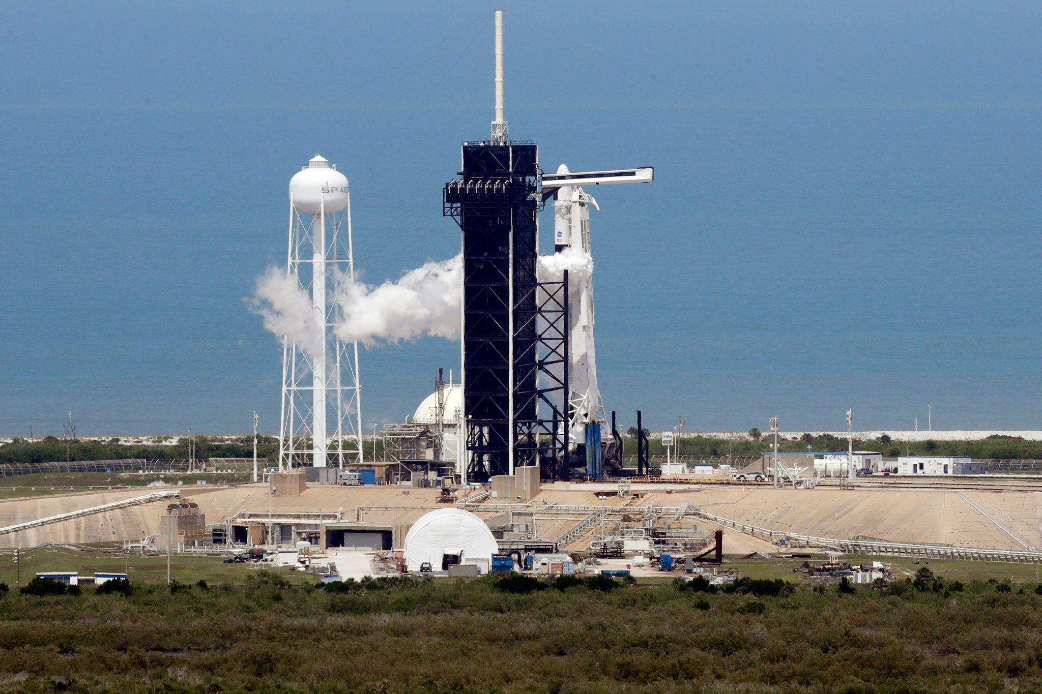 Bild zu Zweiter Startversuch für SpaceX «Falcon 9»
