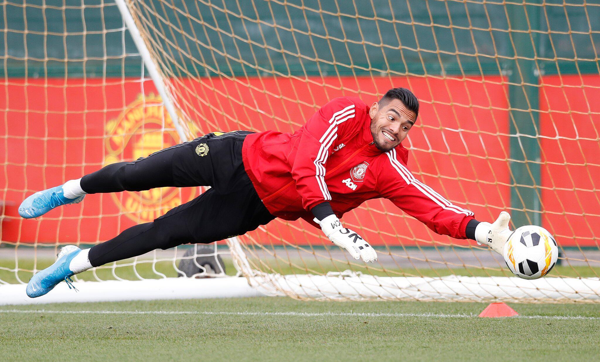 Bild zu Sergio Romero, Manchester United