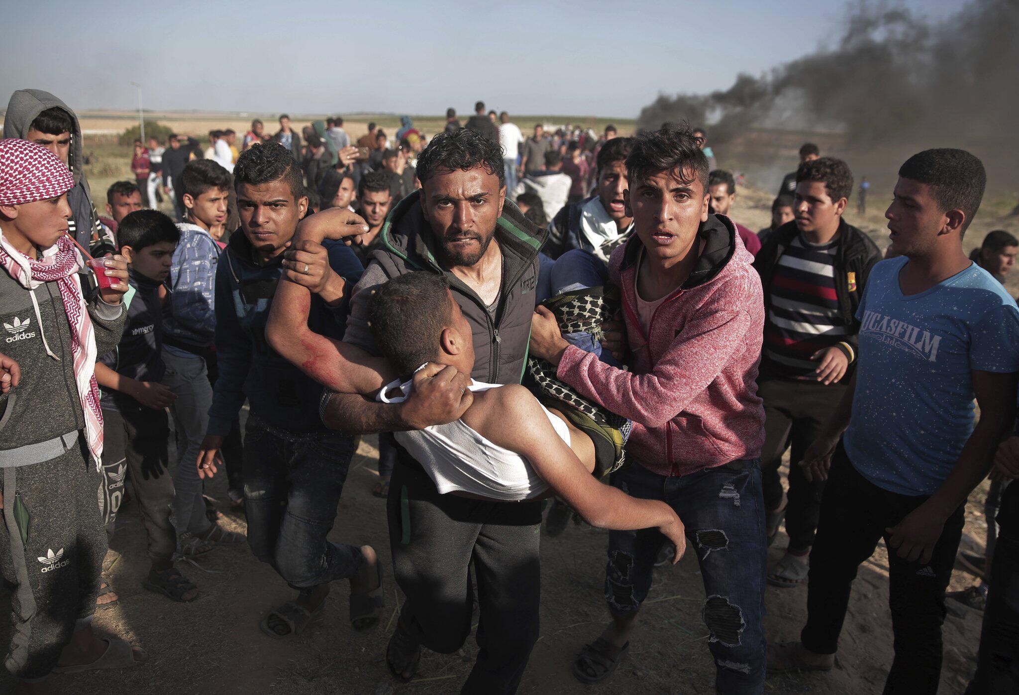 Bild zu Erneute Proteste im Gazastreifen