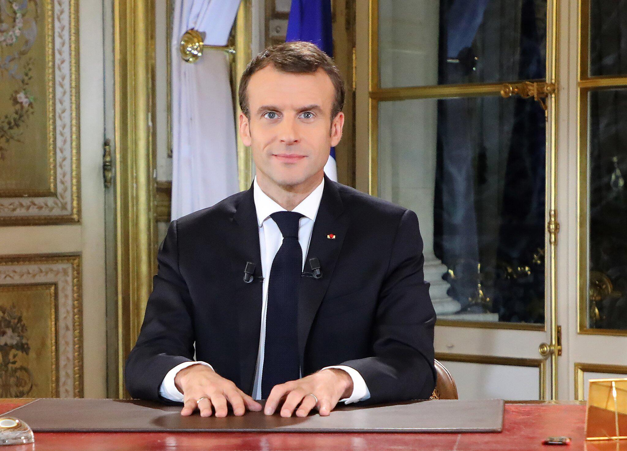 Bild zu Emmanuel Macron