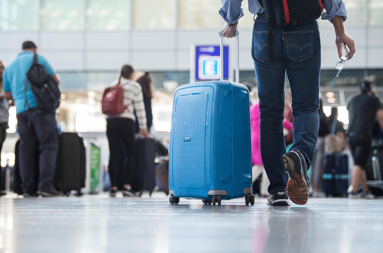 Bild zu Flughafen, Frankfurt am Main, Fluggäste, Hessen