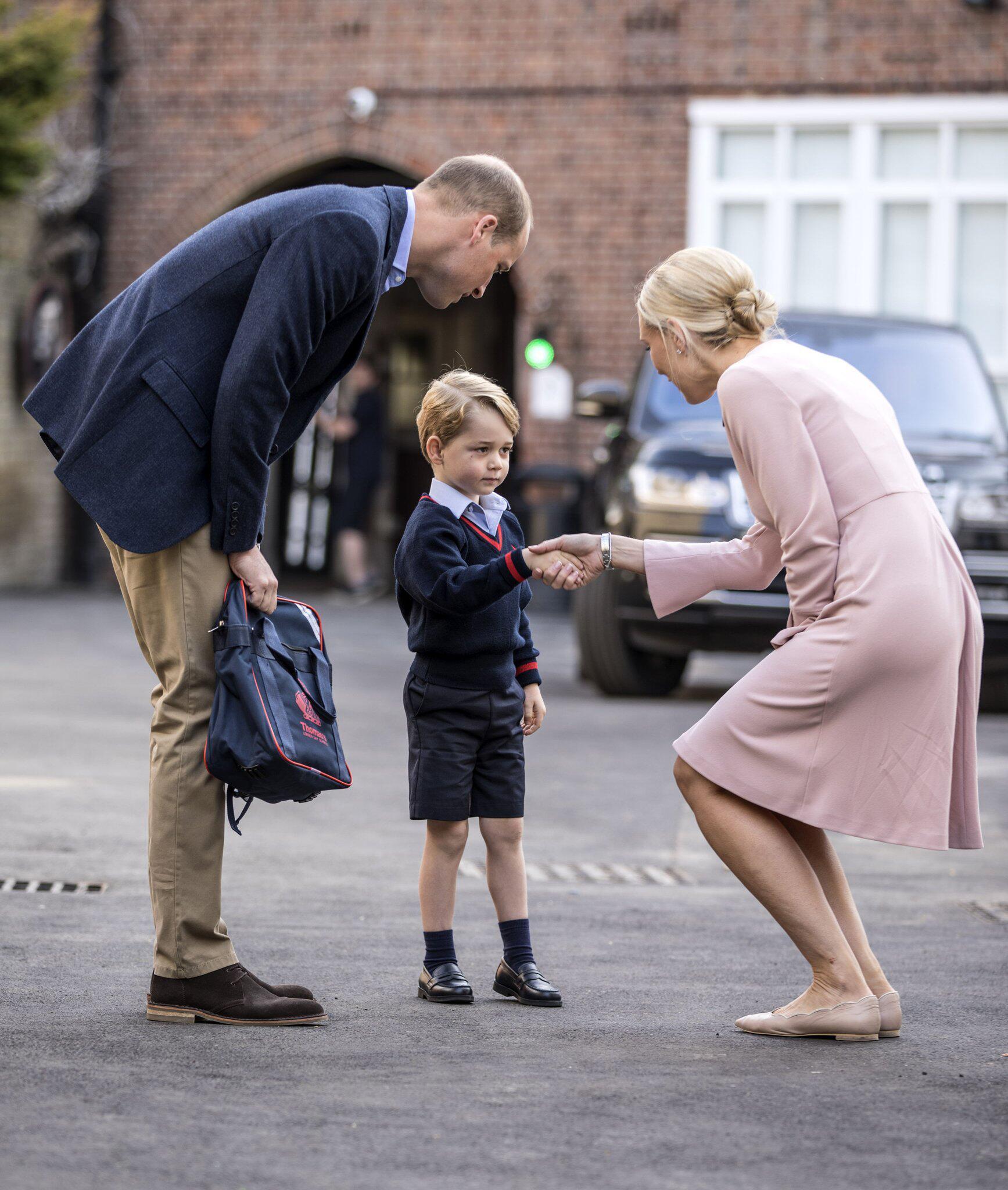 Bild zu Prinz George, William