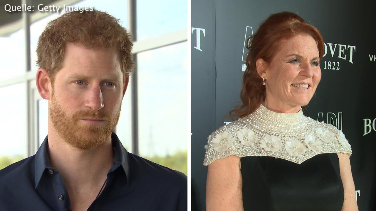 Bild zu Prinz Harry und Meghan Markle: Hochzeit ohne Sarah Ferguson