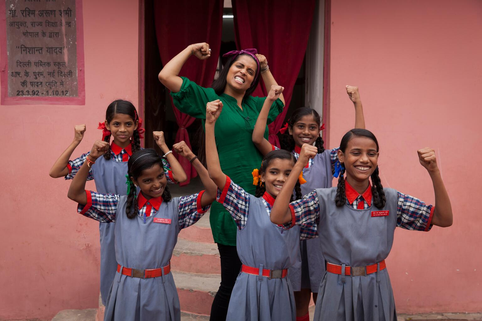 Bild zu Lilly Singh, UNICEF, Indien