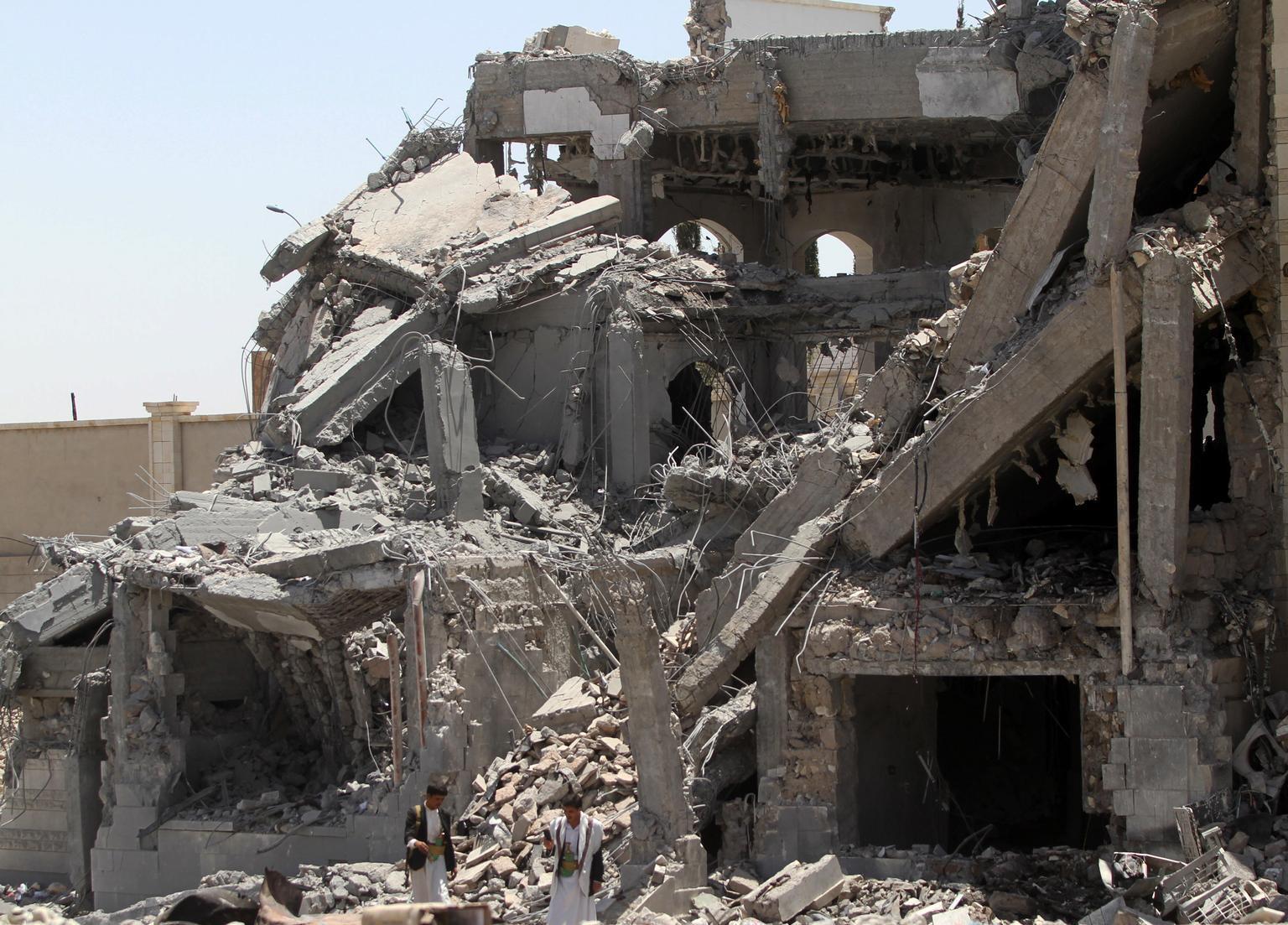 Bild zu Sanaa, Schule, Zerstörung