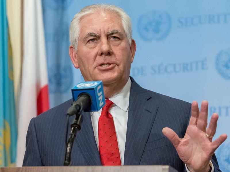 Bild zu Tillerson