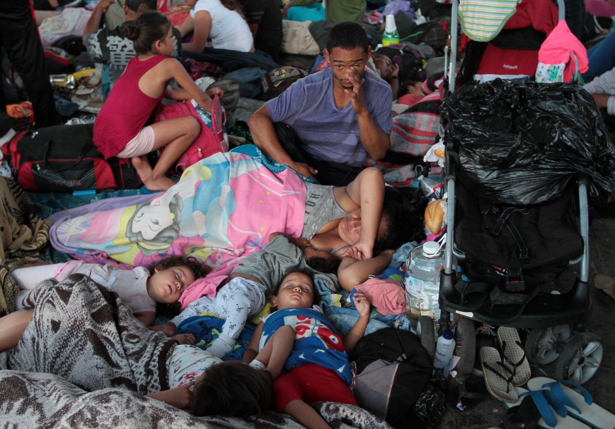 Bild zu Flüchtlinge aus Honduras auf dem Weg in die USA