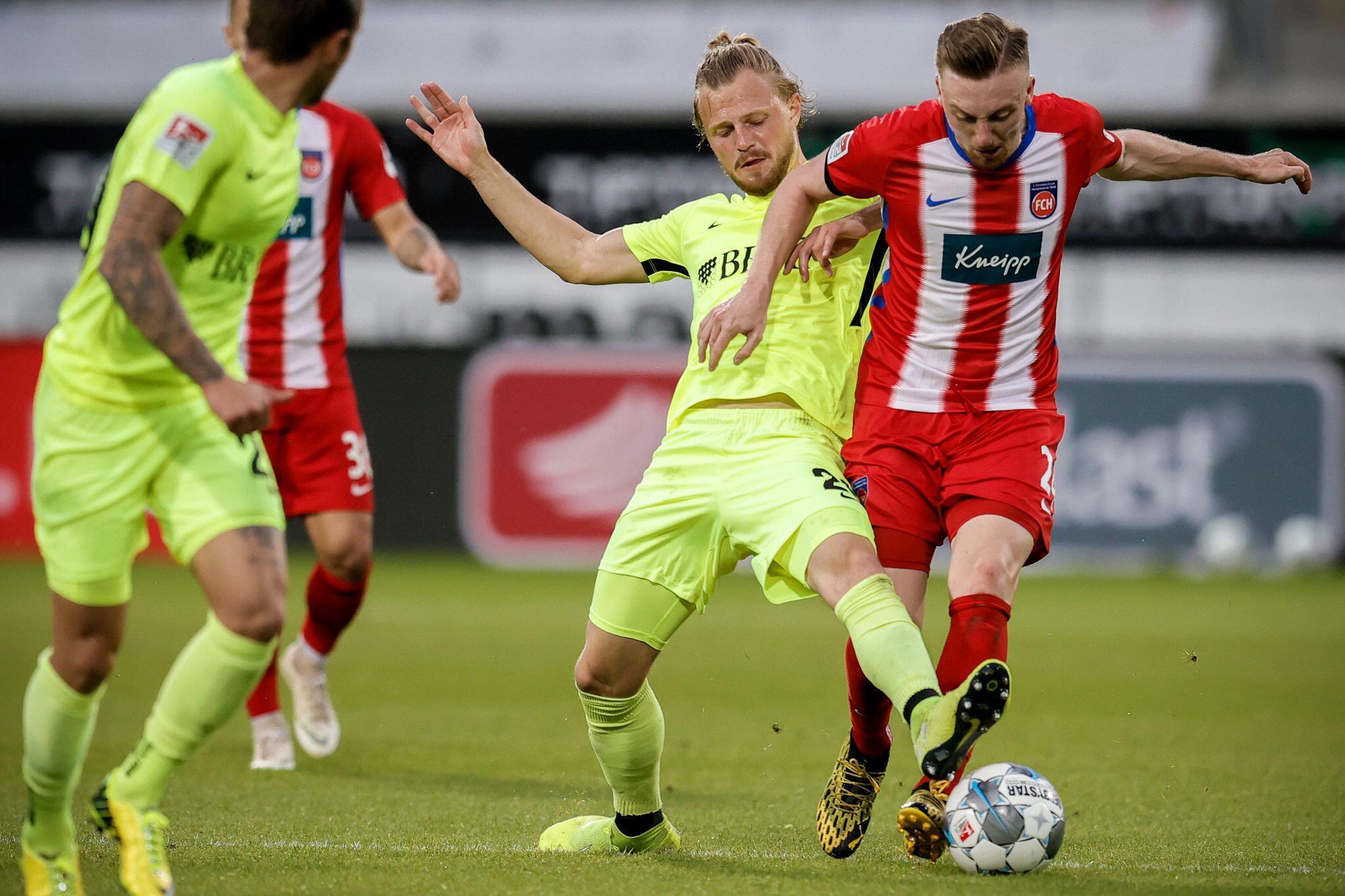 Bild zu 1. FC Heidenheim - SV Wehen Wiesbaden