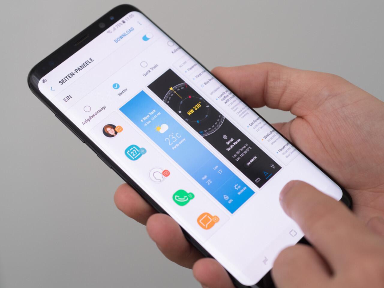 Bild zu Das Samsung Galaxy S8 – der XXL-Player unter den Smartphones