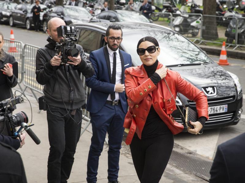 Bild zu Paris Fashion Week - Monica Bellucci