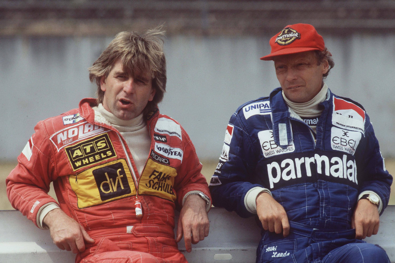 Bild zu Niki Lauda, Manfred Winkelhock, Formel 1, Hockenheim, Hockenheimring, 1983