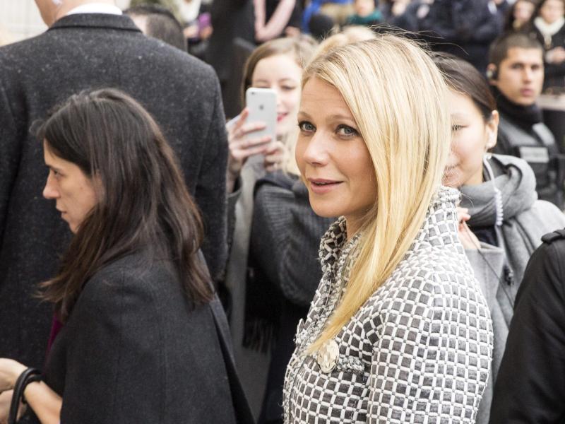 Bild zu Paris Fashion Week - Gwyneth Paltrow