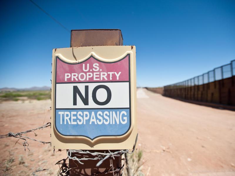 Bild zu US-Grenze