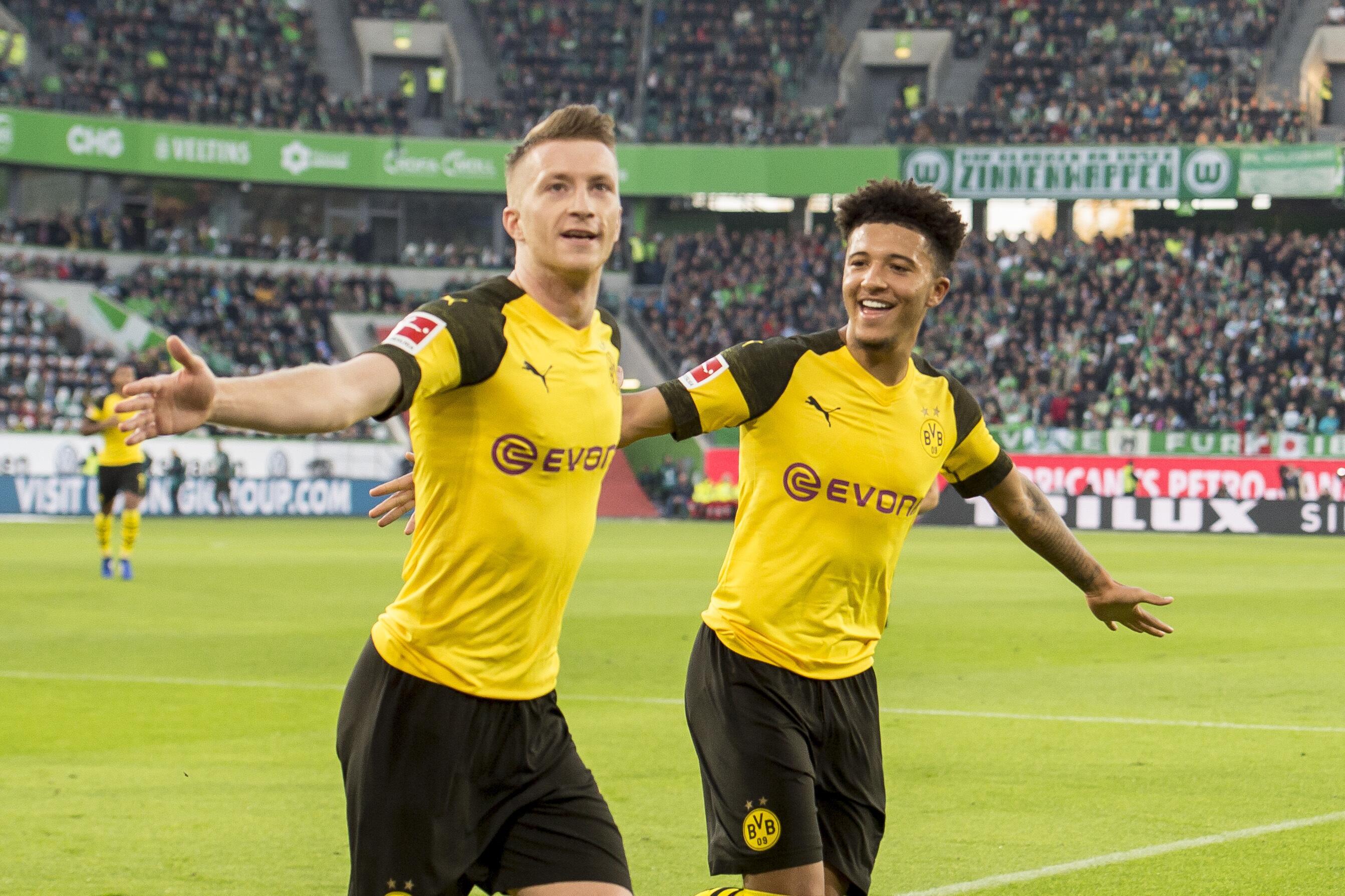 Bild zu Reus, Sancho, Dortmund, BVB, Bundesliga, Fußball