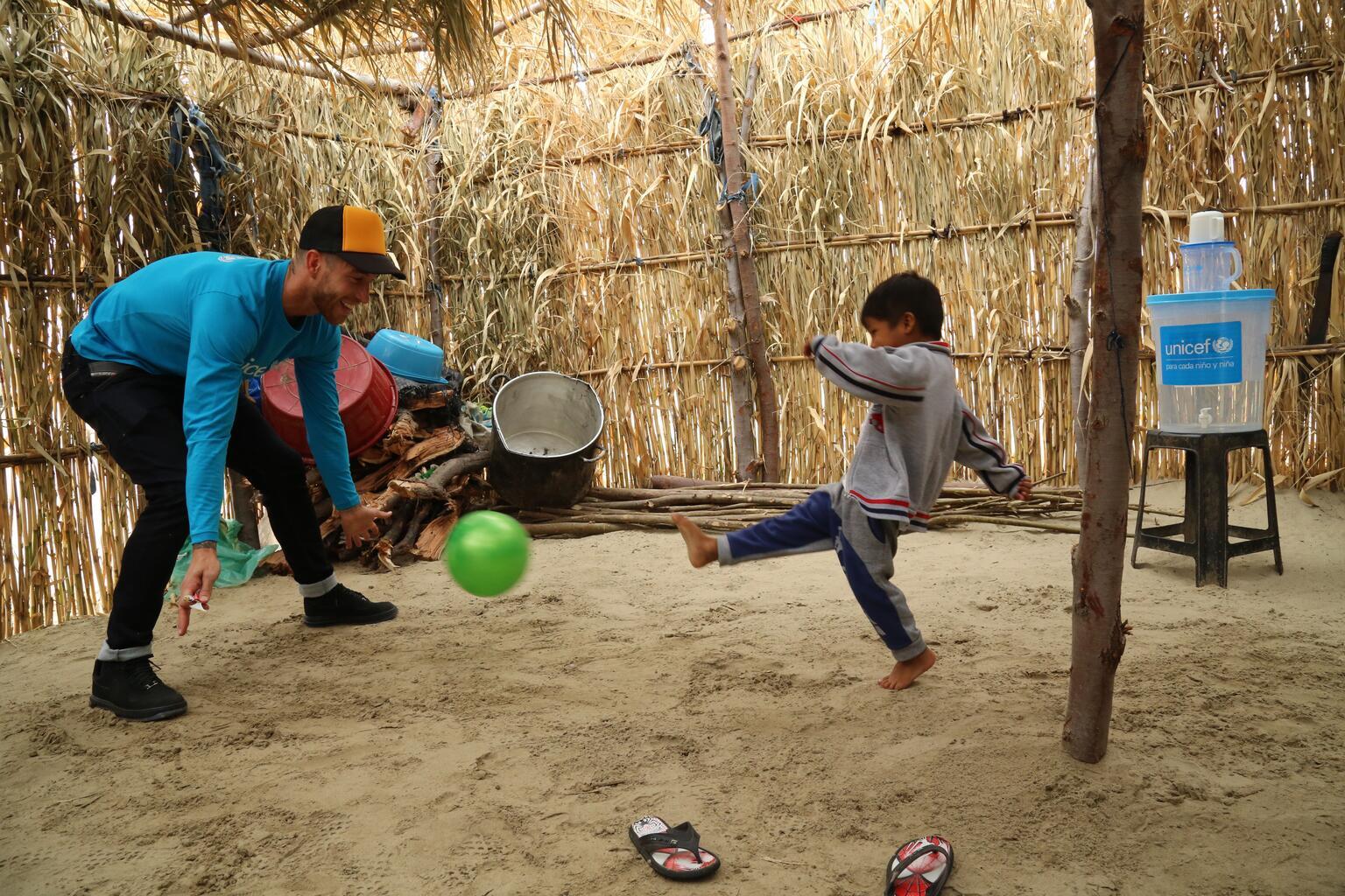 Bild zu Sergio Ramos, UNICEF, Peru