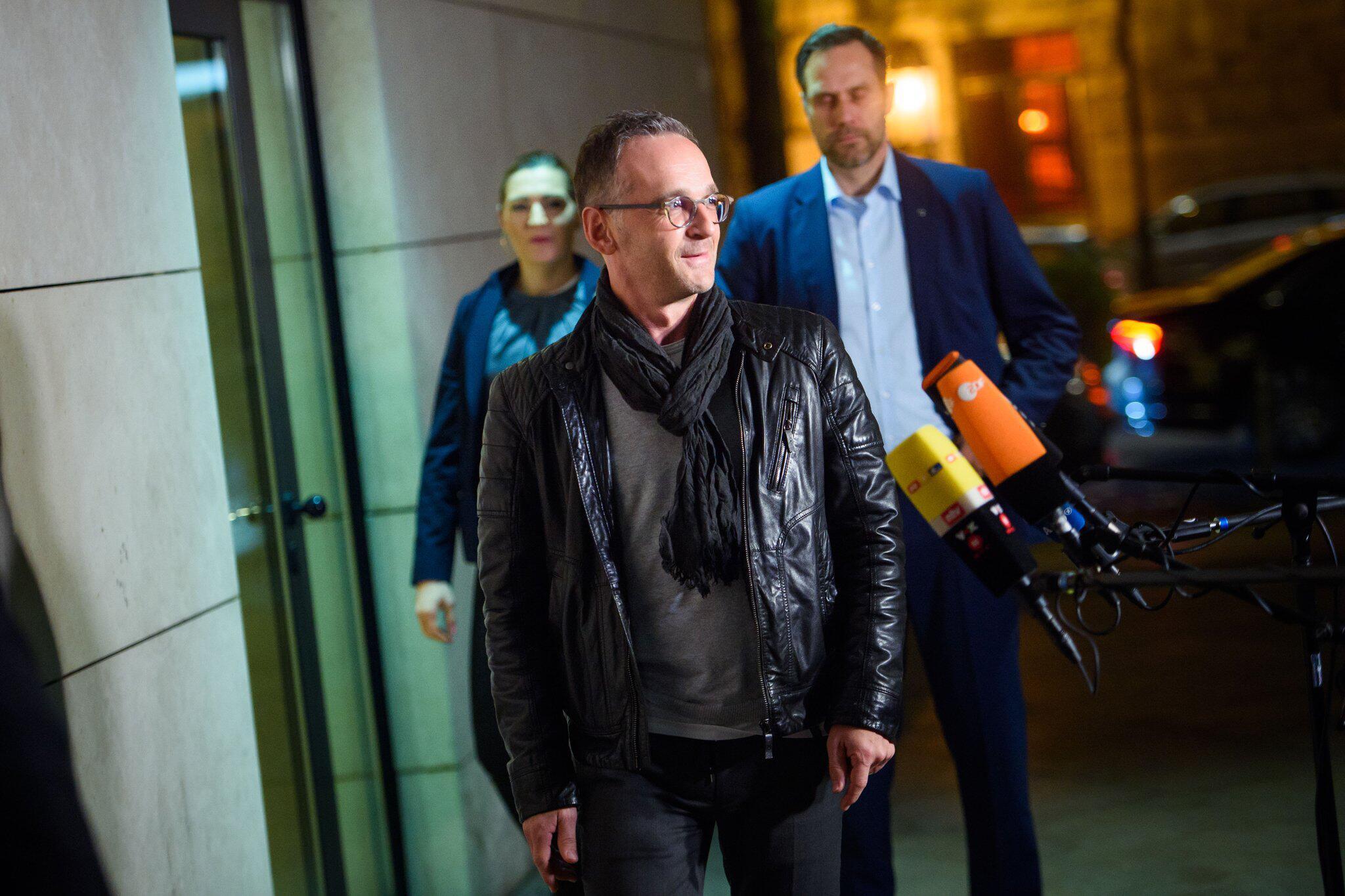 Bild zu SPD retreat, Heiko Maas