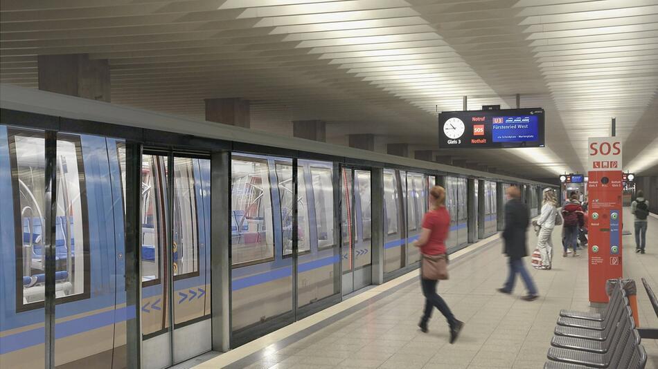 MVG plant Bahnsteigtüren für Münchner U-Bahn