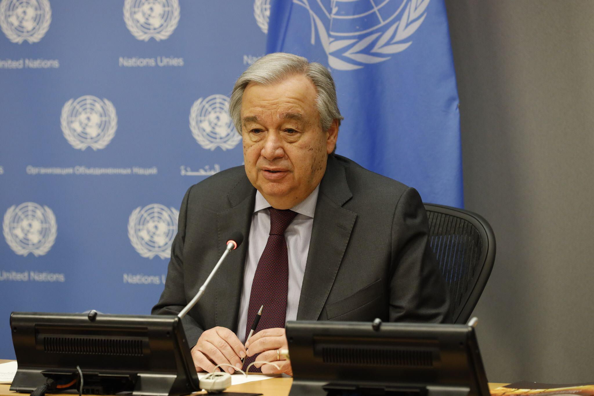 Bild zu Guterres ruft in Corona-Krise zu globaler Antwort auf