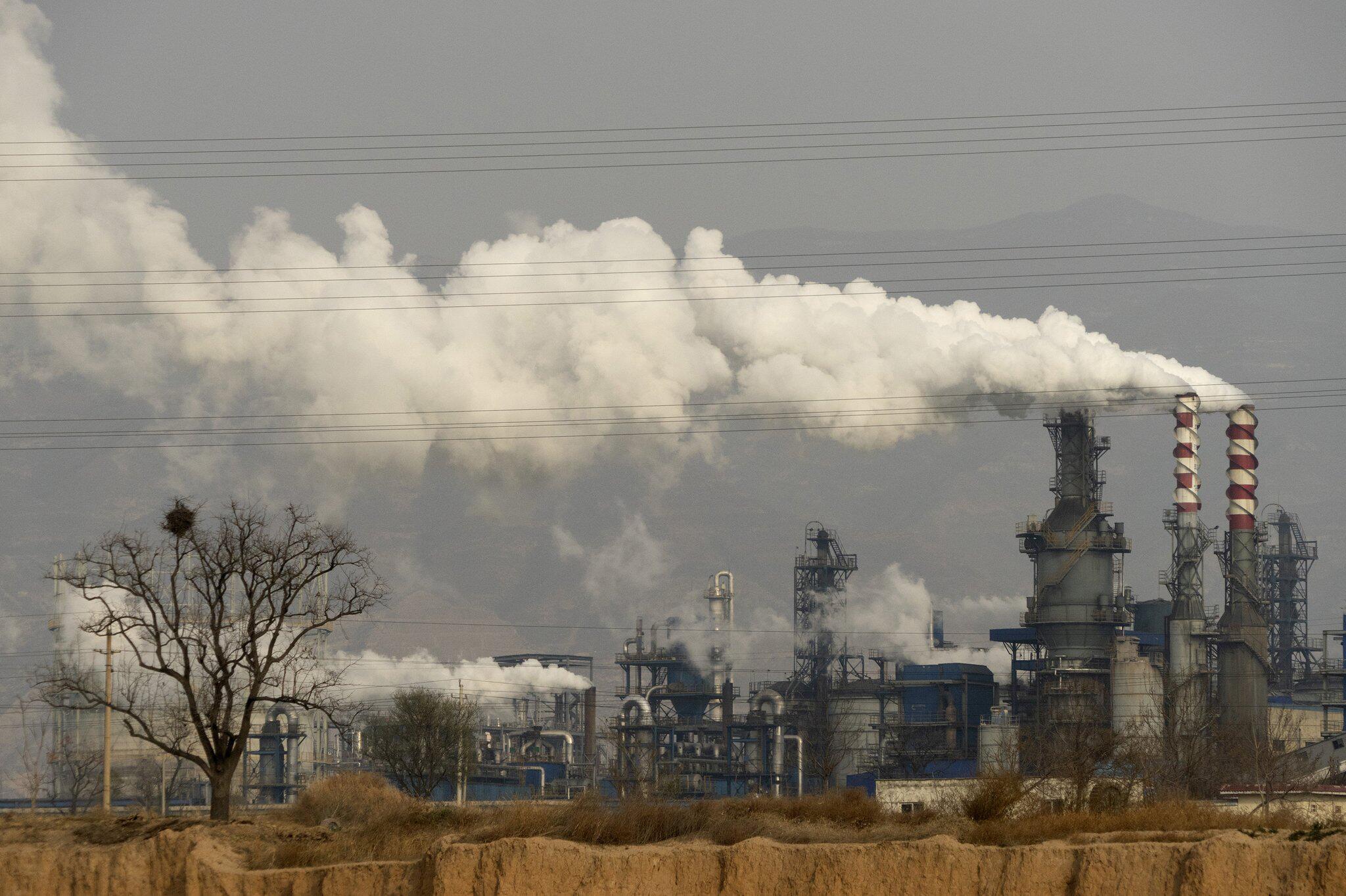 Bild zu Klima - Kohleverarbeitungsanlage in China