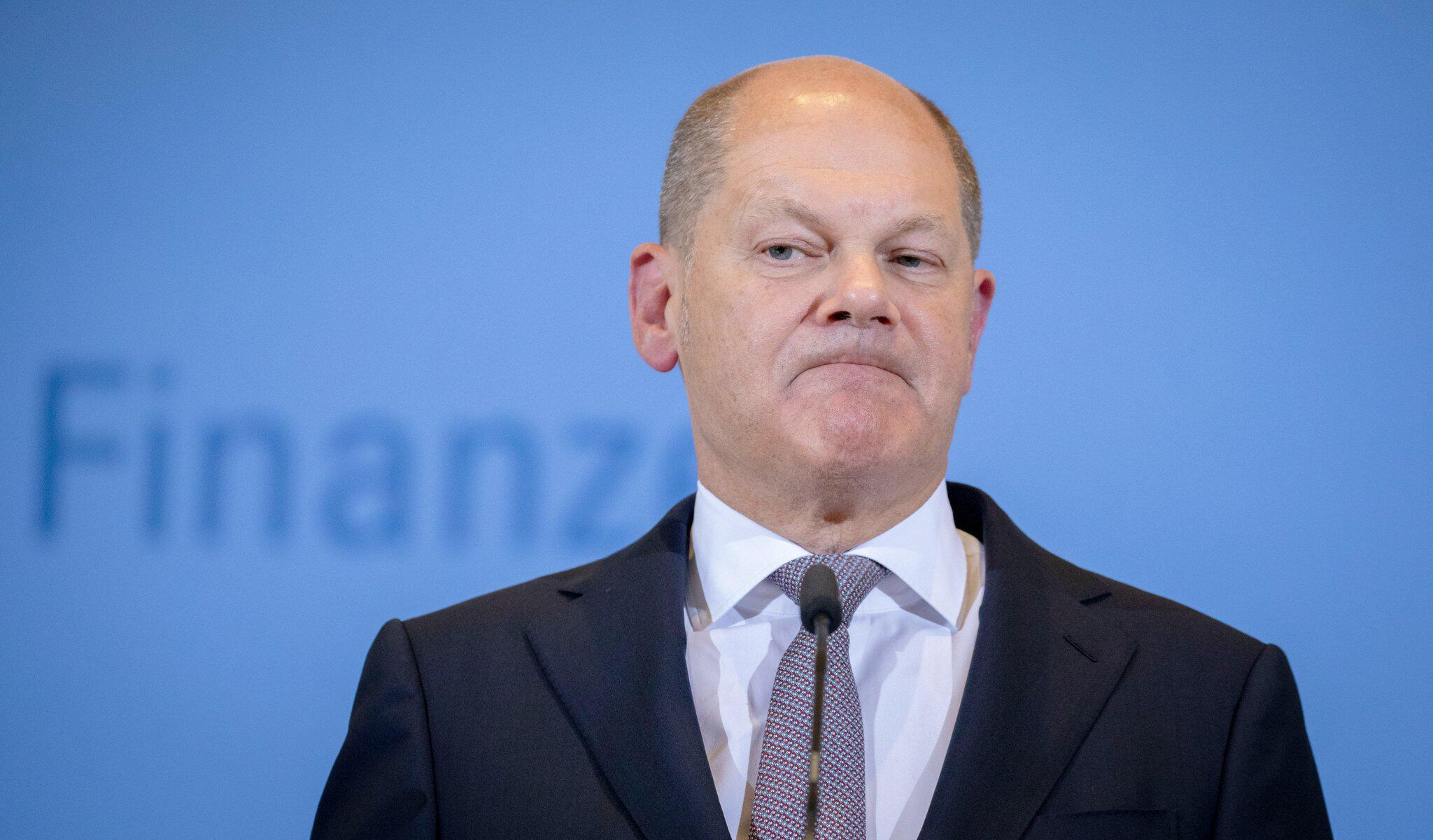 Bild zu Finanzminister Olaf Scholz