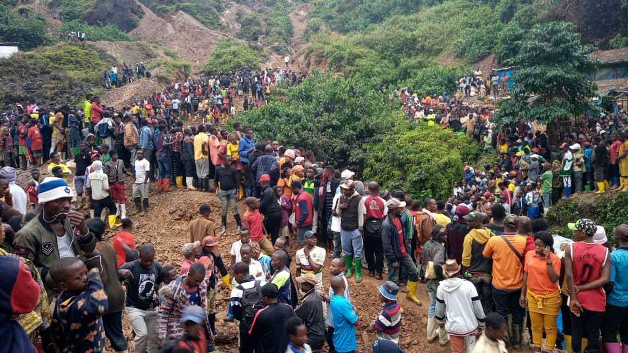 Bild zu Minenunglück im Kongo