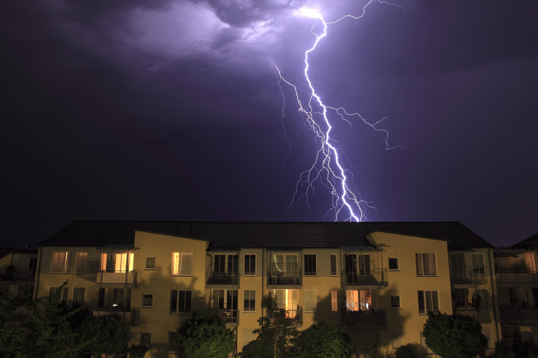 Bild zu Blitz, Haus