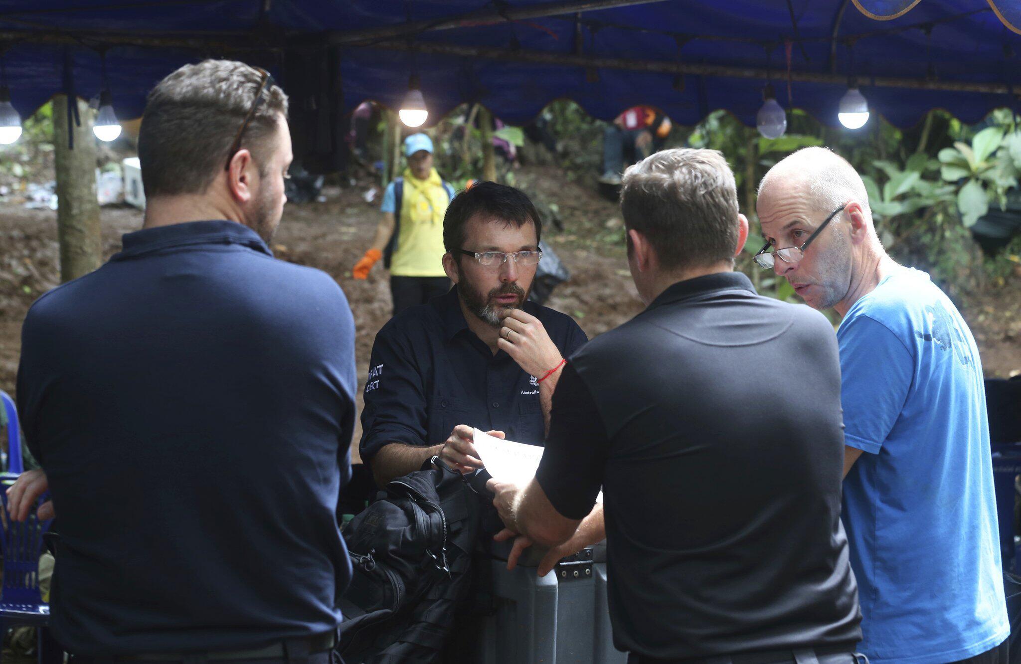 Bild zu Rettung der vermissten Fußballmannschaft in Thailand
