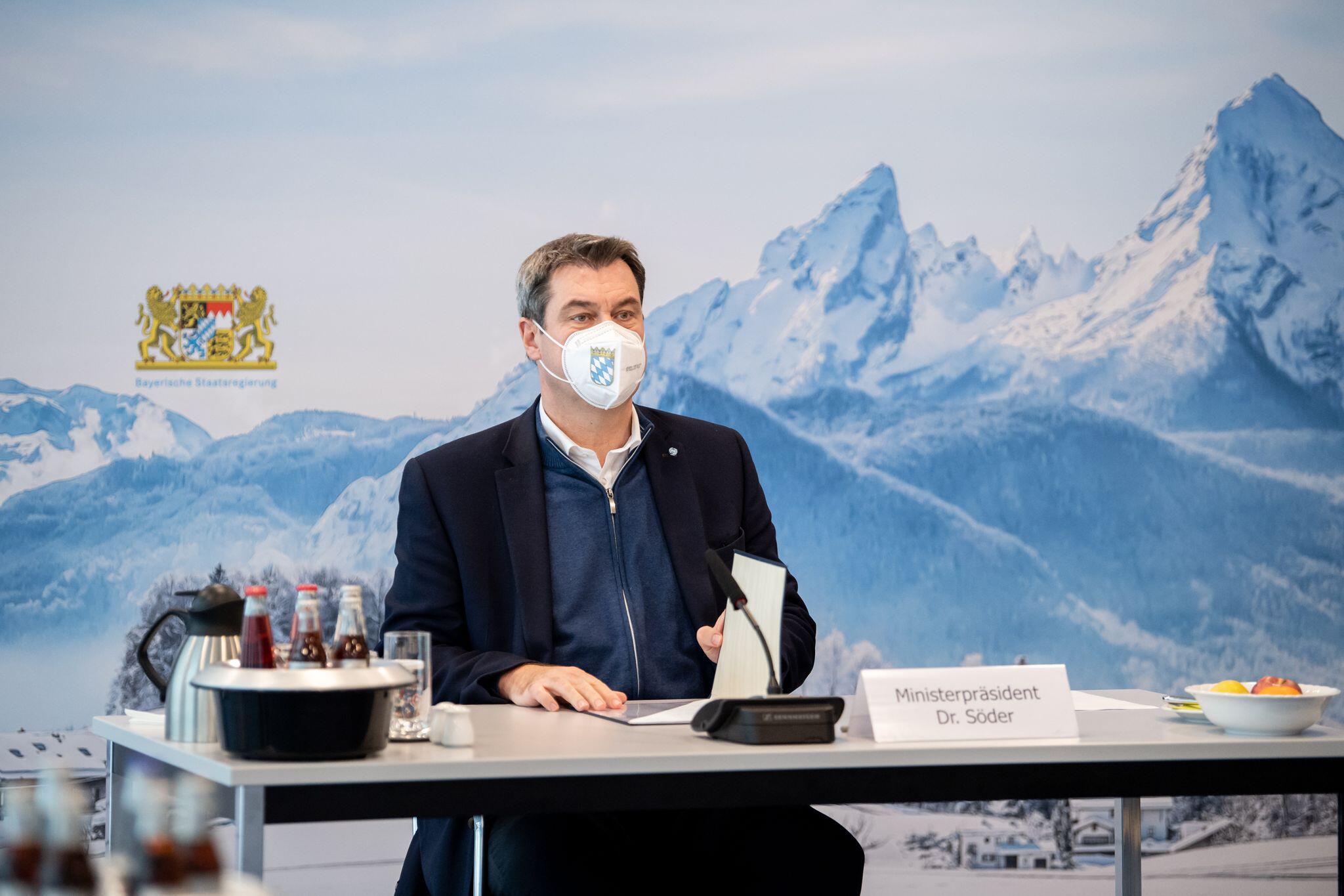 Bild zu Sondersitzung vom Kabinett in München