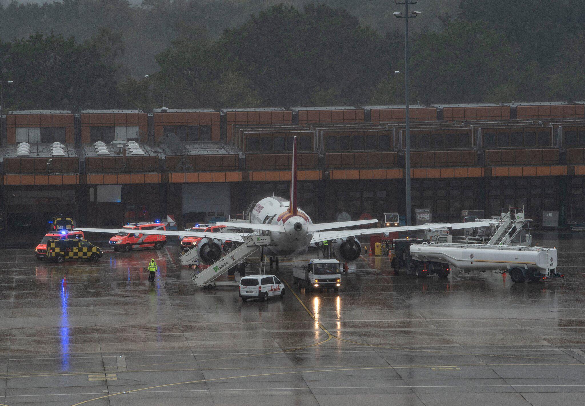 Bild zu Verletzte nach Turbulenzen bei Eurowings-Flug nach Tegel