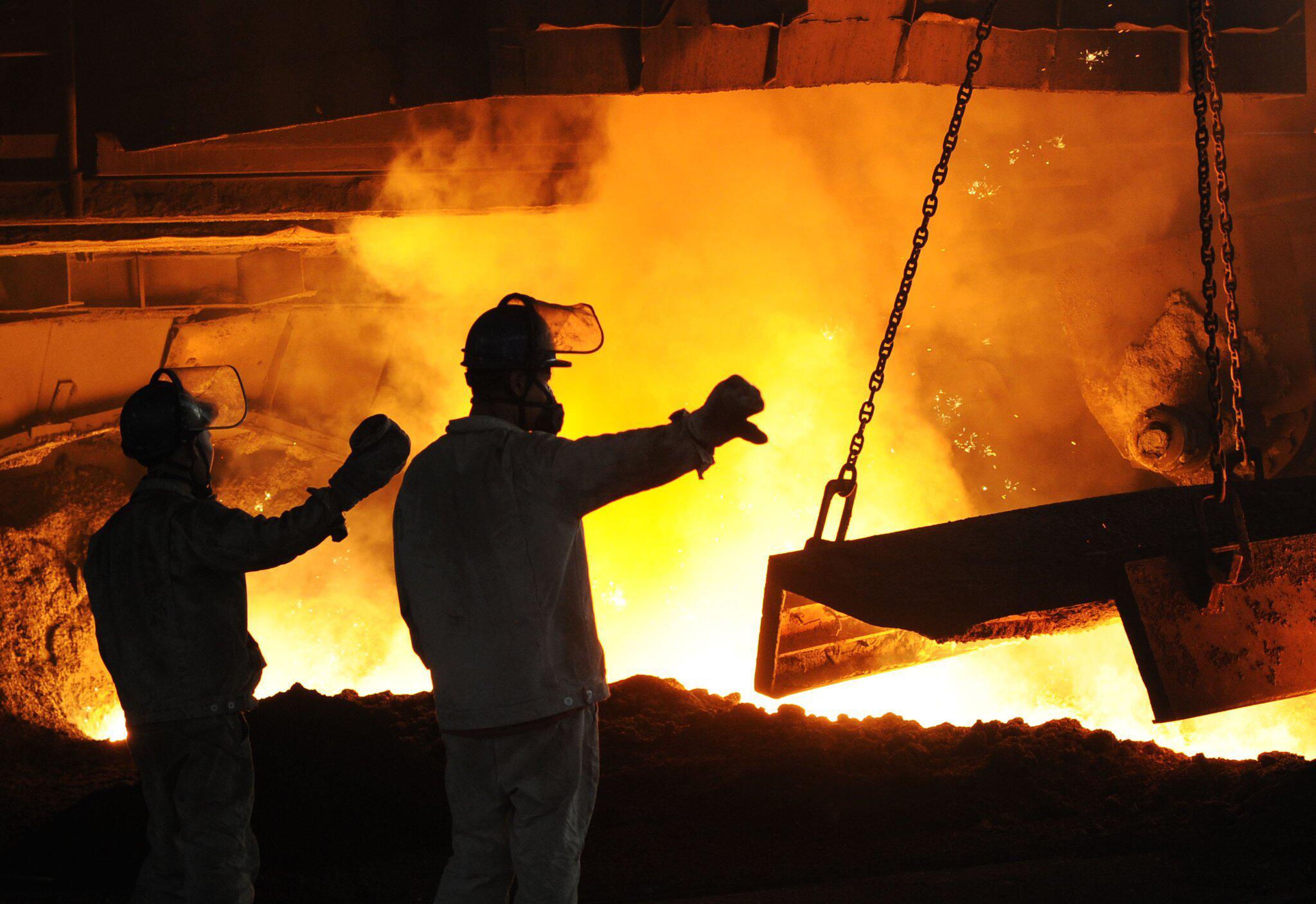Bild zu Stahlproduktion in China