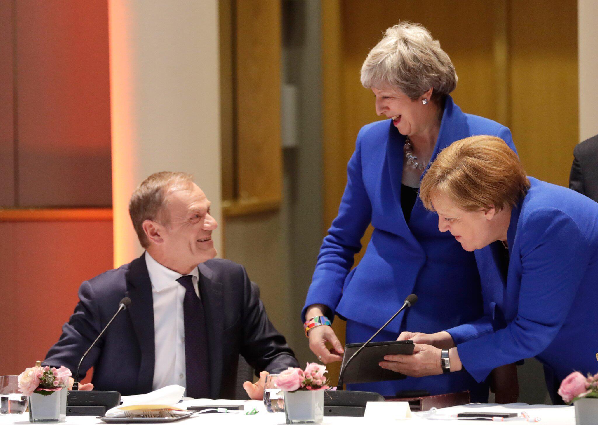 Bild zu EU-Sondergipfel zum Brexit