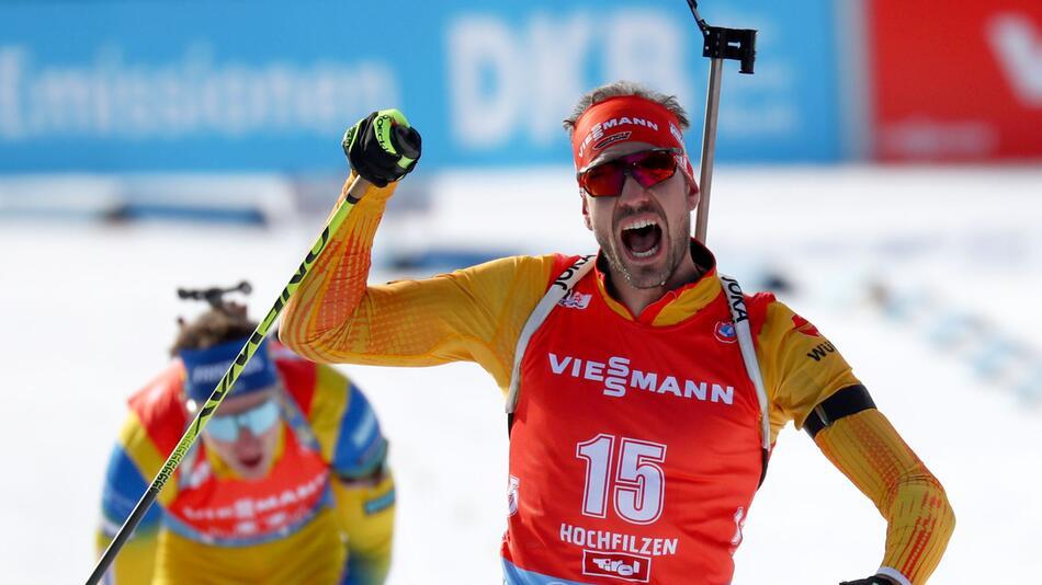 Biathlon - Weltcup in Hochfilzen