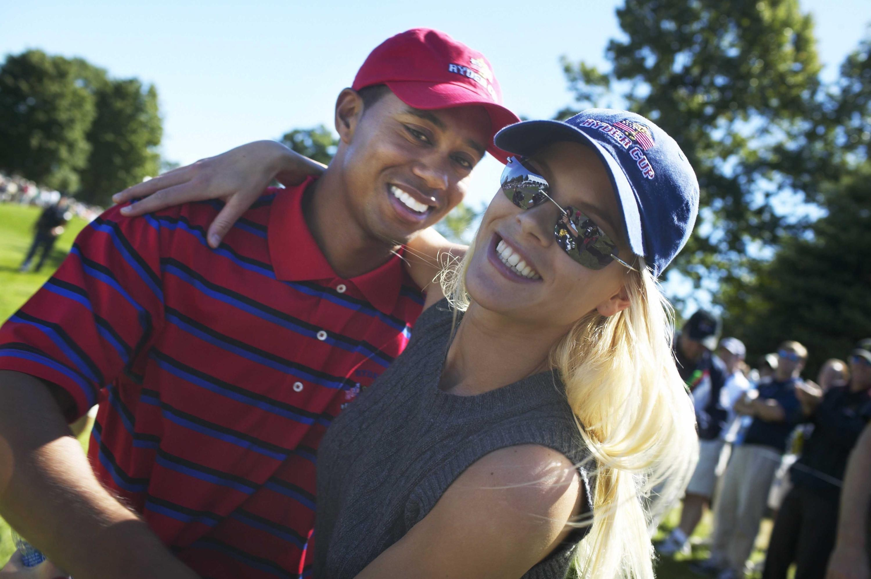Bild zu Tiger Woods, Elin Nordegren, 2004, Ryder Cup, USA