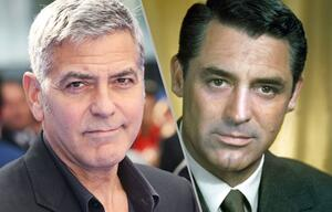 George Clooney und Cary Grant